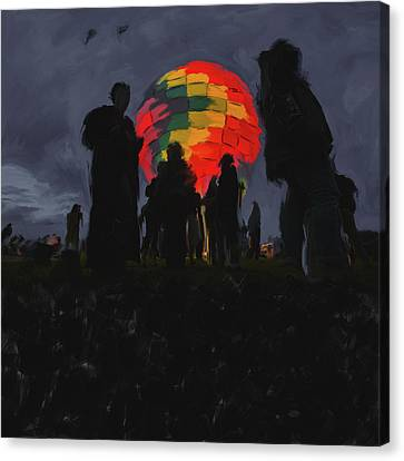 Albuquerque International Balloon Fiesta 251 2 Canvas Print by Mawra Tahreem