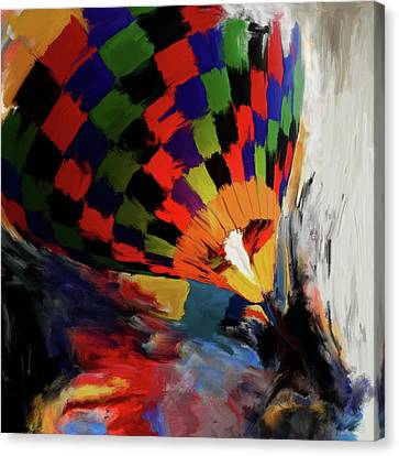 Albuquerque International Balloon Fiesta 254 1 Canvas Print by Mawra Tahreem