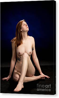 Erotic Nude Canvas Print -  Nude Fine Art Print Woman Photo In Color 7136.02 by Kendree Miller