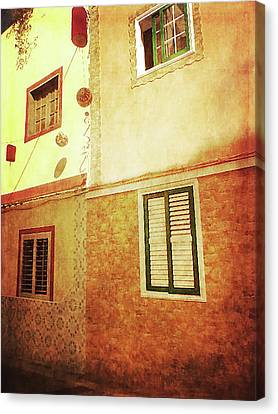 Canvas Print featuring the photograph Alcala, Fiesta House by Anne Kotan