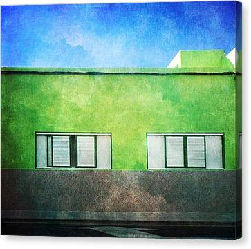 Canvas Print featuring the photograph Alcala Green House No1 by Anne Kotan