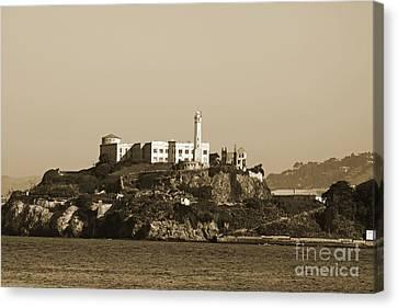 Alcatraz Canvas Print by Denise Pohl