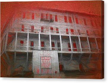 Alcatraz Federal Penitentiary Canvas Print by Michael Cleere