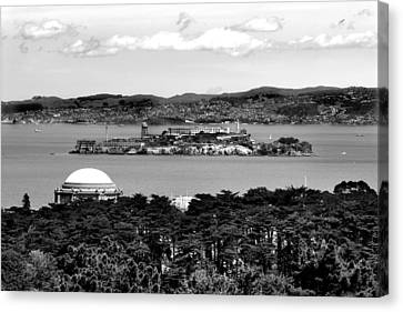 Alcatraz Canvas Print - Alcatraz by Greg Fortier