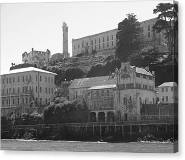 Alcatraz Island Canvas Print by Bobby Miranda