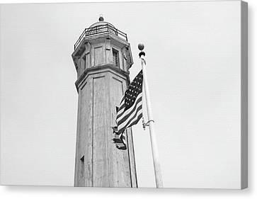 Alcatraz Light - San Francisco Canvas Print