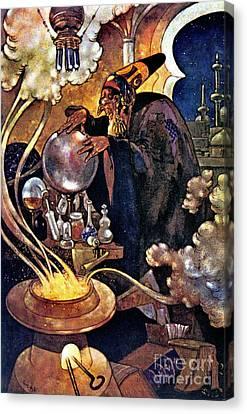 Alchemist 1912 Canvas Print by Padre Art