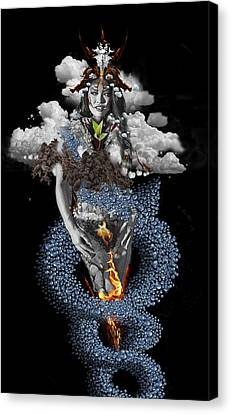 Alchemy 3 Canvas Print by Alma