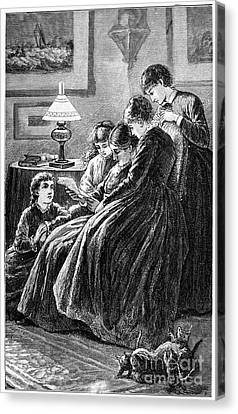 Alcott: Little Women Canvas Print