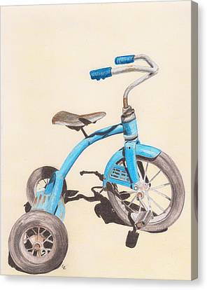 Alder's Bike Canvas Print