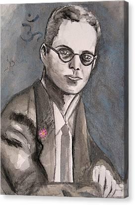 Aldous Huxley Canvas Print by Darkest Artist