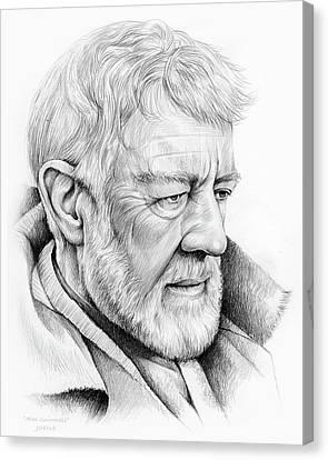 Canvas Print - Alec Guinness by Greg Joens