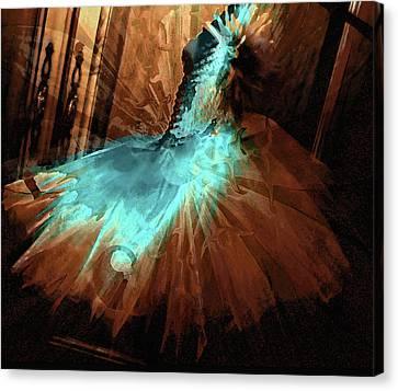 Alessandra's Dress Canvas Print by Molly McPherson