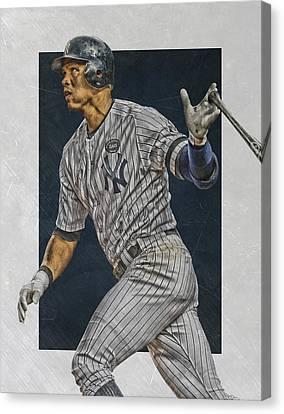 Alex Rodriguez New York Yankees Art Canvas Print