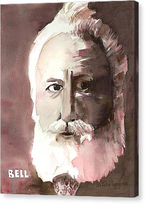 Alexander Graham Bell Canvas Print by Arline Wagner