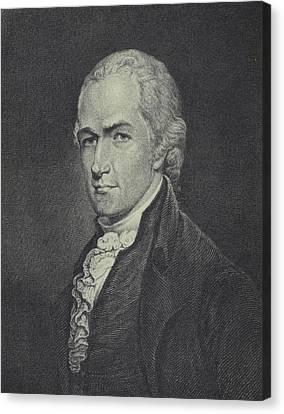 Half-length Canvas Print - Alexander Hamilton by Archibald Robertson