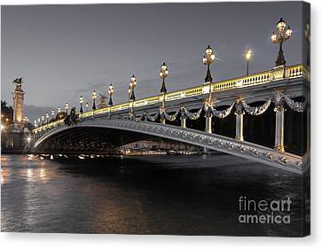 Alexander IIi Bridge Canvas Print
