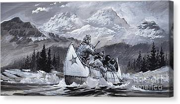 White Pines Canvas Print - Alexander Mackenzie by Graham Coton