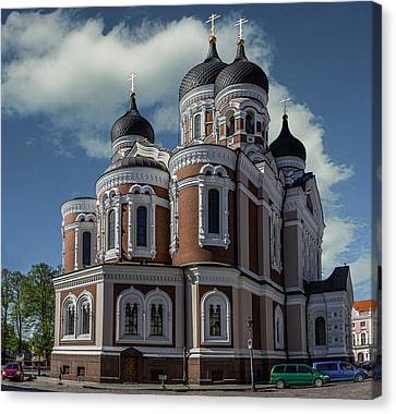 Alexander Nevsky Cathedral Canvas Print by Capt Gerry Hare
