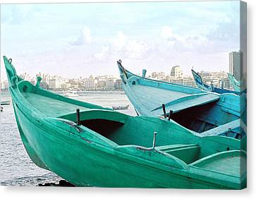 Alexandrian Boats Canvas Print by Cassandra Buckley