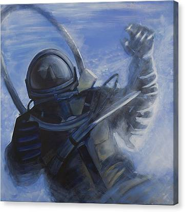 Alexei Leonov Canvas Print by Simon Kregar