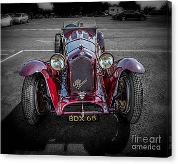 Alfa Romeo Canvas Print by Adrian Evans