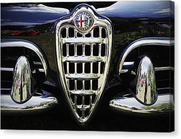 Alfa Romeo Canvas Print by Dennis Hedberg