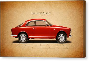 Alfa Romeo Giulietta Sprint Canvas Print by Mark Rogan