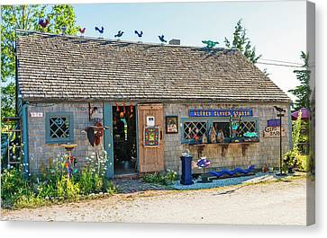 Alfie Glover's Bird Barn Canvas Print by Frank Winters