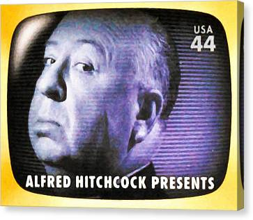 Alfred Hitchcock Presents Canvas Print by Lanjee Chee
