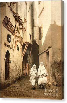Algeria: Street Scene, C1899 Canvas Print by Granger