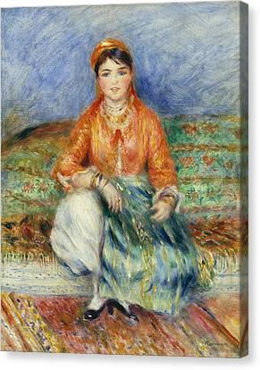 Algerian Girl 1881 Canvas Print