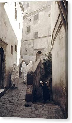 Algiers Casbah Canvas Print