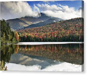 Algonquin Peak From Heart Lake - Adirondack Park - New York Canvas Print by Brendan Reals