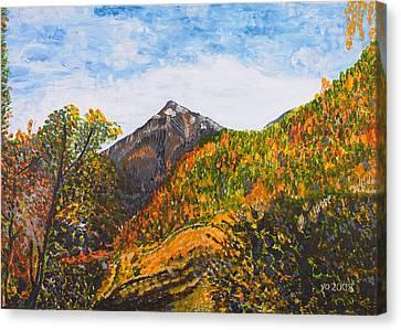 Algund View Canvas Print