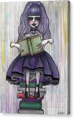 Alice In Another World 2 Canvas Print