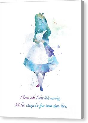 Not In Use Canvas Print - Alice by Monn Print