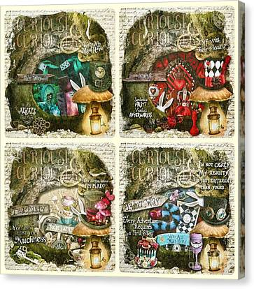 Canvas Print - Alice Of Wonderland Series by Mo T