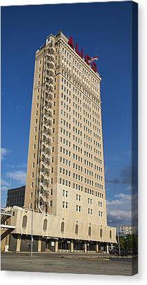 Alico Building Canvas Print by Stephen Stookey