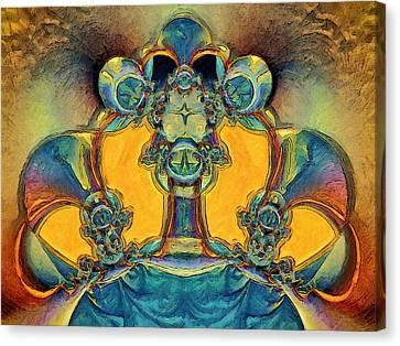 Alien Canvas Print by Alexandru Bucovineanu