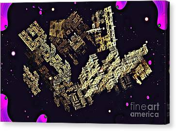 Alien City Canvas Print