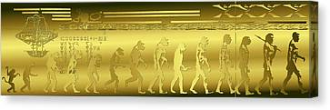 Canvas Print featuring the photograph Alien Evolution by Robert G Kernodle