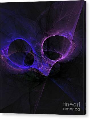 Fractal Geometry Canvas Print - Alien Eyes by Raphael Terra