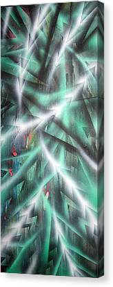 Alien Forest Canvas Print by Leigh Odom