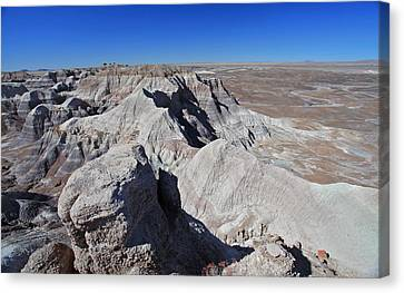 Canvas Print featuring the photograph Alien Landscape by Gary Kaylor