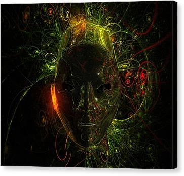 Alien Mindscape By Raphael Terra Canvas Print
