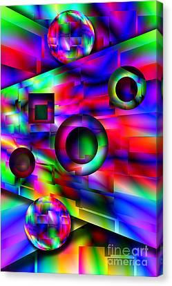 Alien Pinball Canvas Print