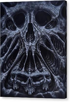 Alien Skull Canvas Print