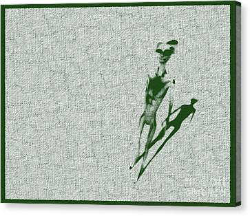 Bizarre Canvas Print - Alien Standing by Raphael Terra