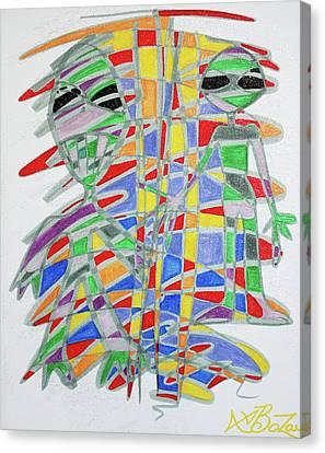 Alienopoly Canvas Print